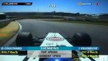 25 ans de course F1 sur le circuit d Interlagos. Mê circuit mais pilotes et voitures diffé