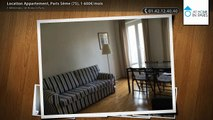 Location Appartement, Paris 5ème (75), 1 600€/mois