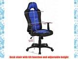 Mesh Sporty Chair High Back Chair Chrome Feet Desk Chair Swivel PC Chair Office Chair Padded