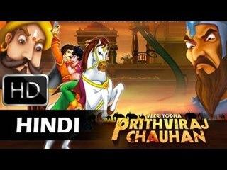 Prithviraj Chauhan Movie | पृथ्वीराज चौहान In Hindi | Animated Movie For Kids