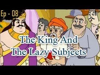 The King And The Lazy Subjects | The Grandpa's Stories English