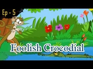 Foolish Crocodile | The Grandpa's Stories English