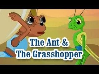 The Ant & The Grasshopper | The Grandpa's Stories English