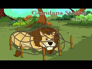 Grandpa Stories - English Moral Story For Kids - Vol 4