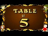 Learn 5x Table | Learn FIVE Multiplication Tables For Kids | Fun And Learn Videos