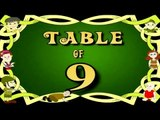 Learn 9x Table | Learn NINE Multiplication Tables For Kids | Fun And Learn Videos
