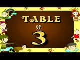 Learn 3x Table | Learn THREE Multiplication Tables For Kids | Fun And Learn Videos