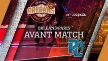 Avant-Match - J16 - Orléans reçoit Paris