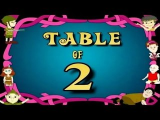 Learn Multiplication Table Of Two - 2 x 1 = 2 | 2 Times Tables | Fun & Learn Video for Kids
