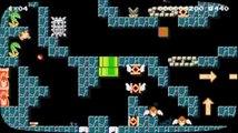 【マリオメーカー#296】裏技(A+B+下)推奨コース・洞窟探検にきたキノピオ隊長 (デイリービデオ)