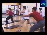 Gag : ils sont piégés dans un cours de sport très coquin !
