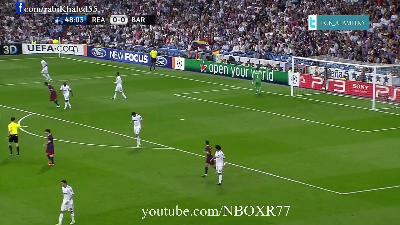 Barcelona Vs Real Madrid 2 0 Champions League Semi Final Second Half فيديو Dailymotion