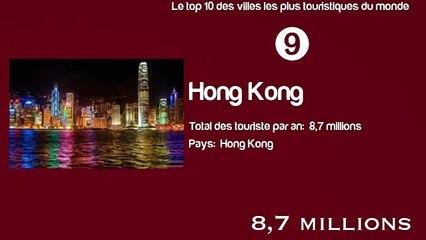 Les 10 villes les plus touristiques du monde