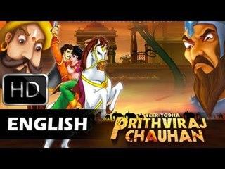 Prithviraj Chauhan | Animated Movie For Kids | English