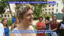 CASAMENTO DE KARLA DE LUCAS E MARCIO LINHARES - RJ,29-12-2016