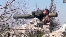 Syria War 2015 - Syrian Rebels In Heavy Clashes With IS All Over Syria