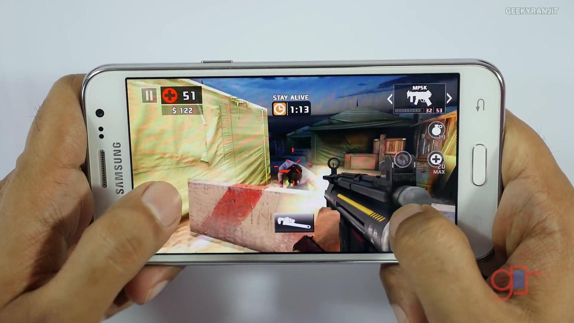 Samsung Galaxy J5 Gaming Review - A Gaming Smartphone
