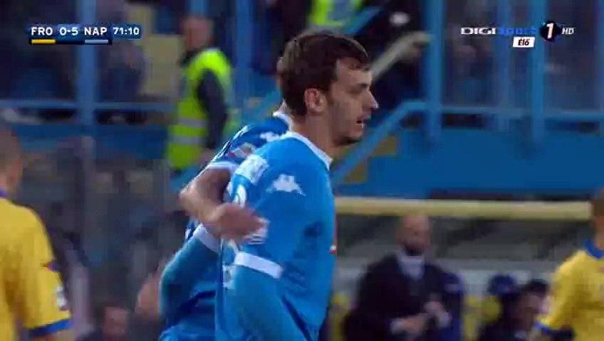 Manolo Gabbiadini Goal - Frosinone 0-5 Napoli - 10-01-2016