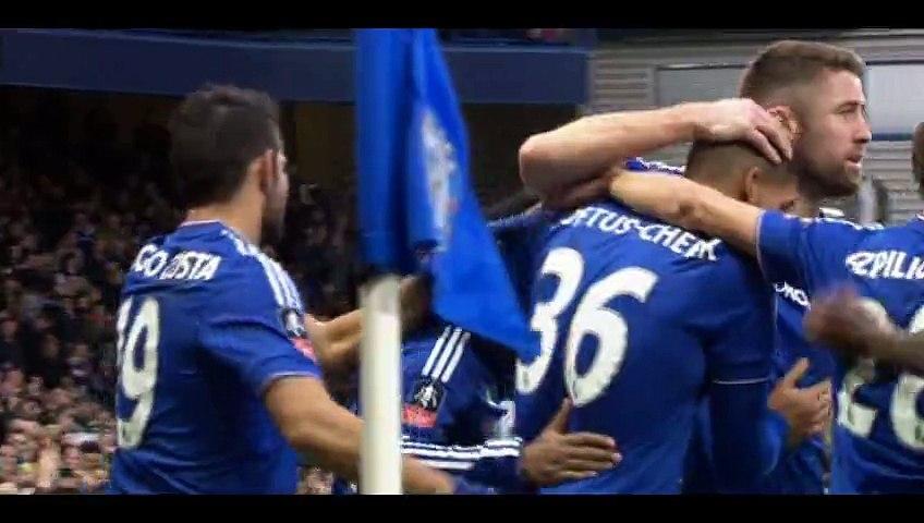 Ruben Loftus-Cheek Goal - Chelsea 2-0 Scunthorpe - 10-01-2016