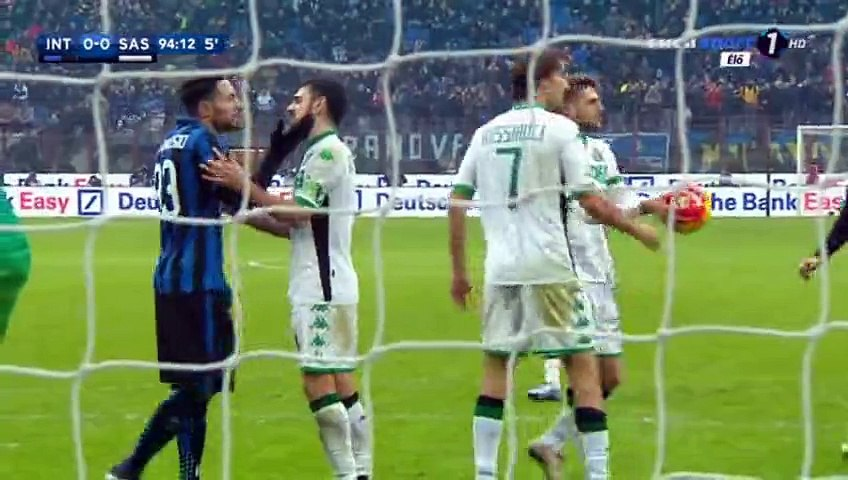 All Goals - Inter 0-1 Sassuolo - 10-01-2016