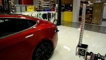 Coche eléctrico Tesla S Recarga automática