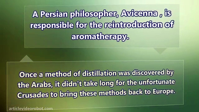 Aromatherapy – Ancient Holistic Healing