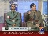 Reham Khan with Imran Khan Dummy in Khabar Naak on Geo News - 7 January 2015