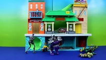 Super Shredder and Krang Fight Teenage Mutant Ninja Turtles Splinter TMNT Casey Jones