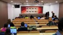 LIVE - Xavi Pascual and Rimas Kurtinaitis post game press conference (FCB Lassa - Khimki Moscow) (7)