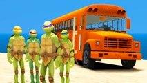 New Ninja Turtles Animation for Kids w/ Nursery Rhymes Songs for Children TMNT FUN