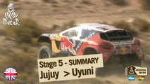 Stage 5 Summary - Car/Bike - (Jujuy / Uyuni)