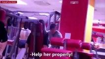 Girls Gym Pranks Compilation 2015 Funny Videos Epic