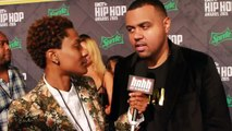 Albe Back on the BET Hip-Hop Awards 2015 Green Carpet