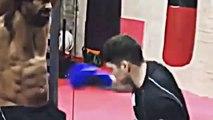 David Haye  - Training for his comeback - brutal training regime