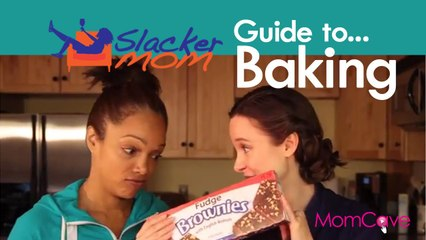 Slacker Mom's Guide to Baking   MomCave TV  Fake Bake Tired Mom Bake Sale