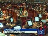 Con 98 votos la Asamblea aprueba Ley de Tierras