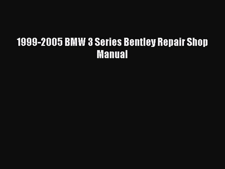 Bentley Bmw E46 Pdf