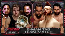 Dean Ambrose & The Usos vs Sheamus, Rusev & King Barrett | Raw Latino ᴴᴰ