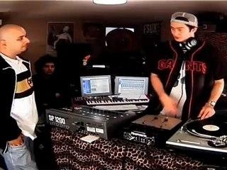 "DJ POSKA ET DJ ""THIERRY SCRATCH"""
