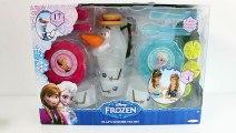 CONGELÉS Play-Doh Olaf Tea Party Jeu Elsa et Anna Poupées Barbie de la Pâte à modeler Juego de Té de Surgelés