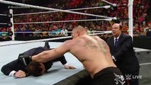 WWE Wrestling 2015   Seth Rollins vs Brock Lesnar   Full Match  - WWE World Heavyweight Championship Match, 2015