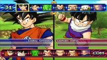Dragon Ball Z Budokai Tenkaichi 3 : Goku Y Bardock VS Freezer Y King Cold - Y LA FUSION EN GOGETA !