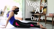 Yoga for Back Pain Relief | Day 4 | Yoga For Beginners - Yoga With AJ