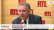 Christiane Taubira et la déchéance de nationalité - François Bayrou : « On est dans une crise gouvernementale »