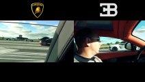 Lamborghini Aventador vs Bugatti Veyron Dev Kapışma [HD] - Araba Tutkum