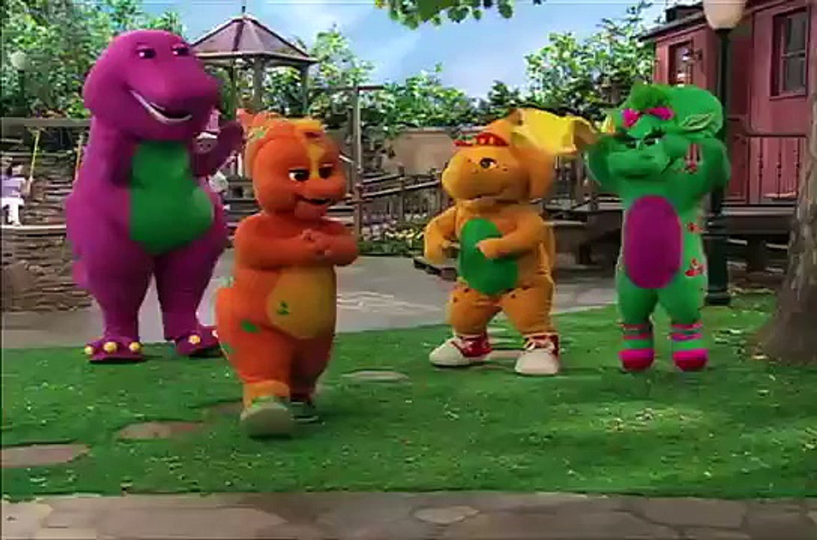 Welcome Cousin Riff Make Music with Anything Barney & Friends