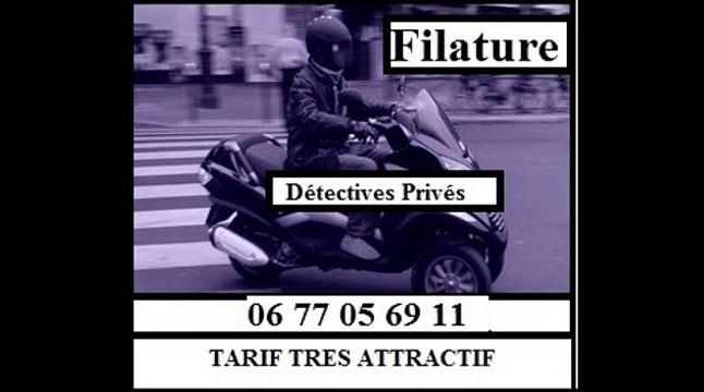 DETECTIVE PRIVE video filature enquete controle surveillance infiltration investigation PAS CHER