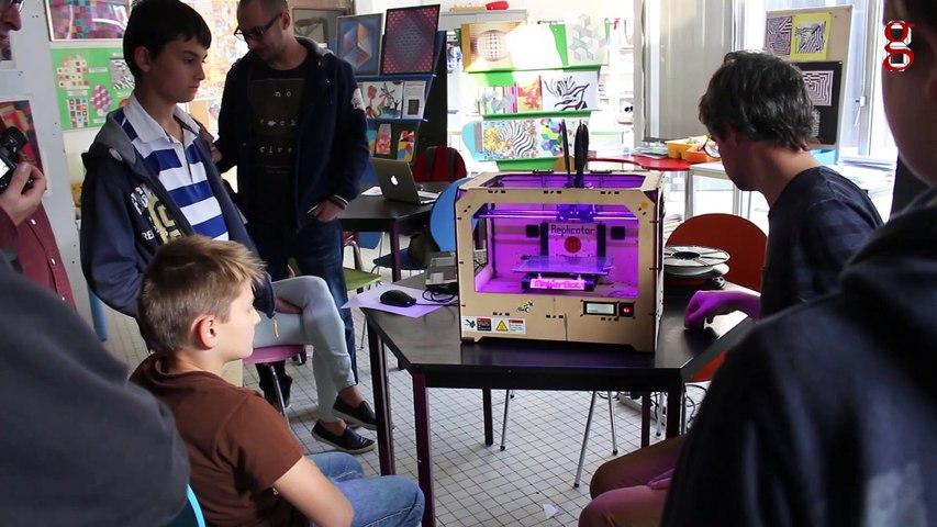 Festival Gamerz 11 - Atelier Impression et Scan 3D