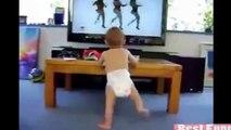 Bebek Videoları Komik Bebek Gülüşü Dansı