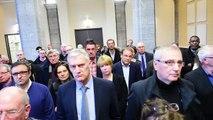 Valérie Létard annonce sa démission aux élus de l'agglo Valenciennes métropole